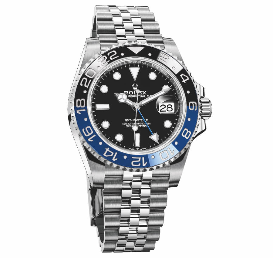 The New Rolex Oyster Perpetual GMT-Master II Batman Jubilee