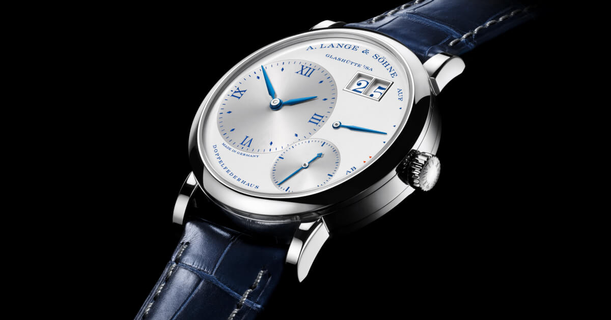 """A. Lange & Sohne Little Lange 1 """"25th Anniversary"""" (Specifications and Price)"""