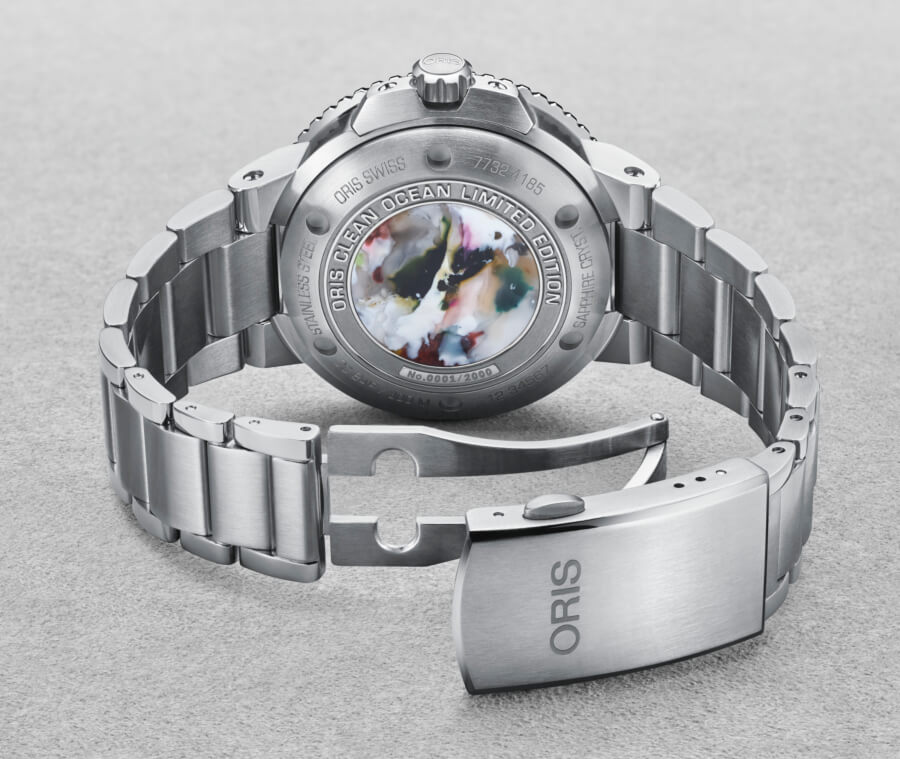 Oris Clean Ocean Limited Edition Case Back