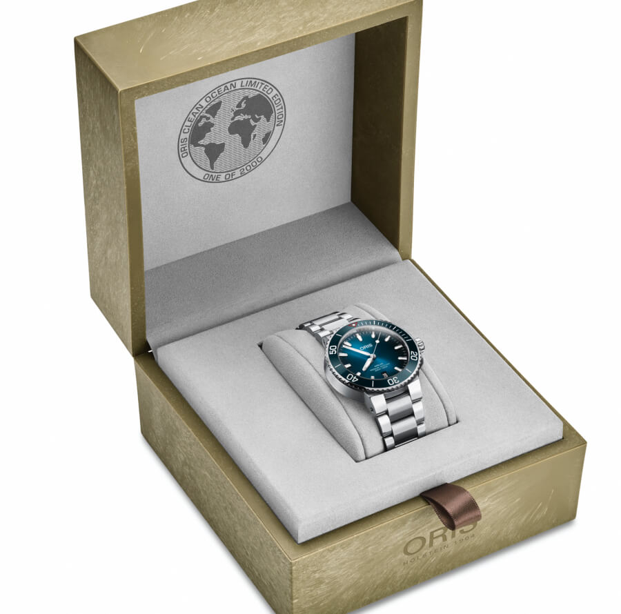 Oris Clean Ocean Limited Edition Full Box