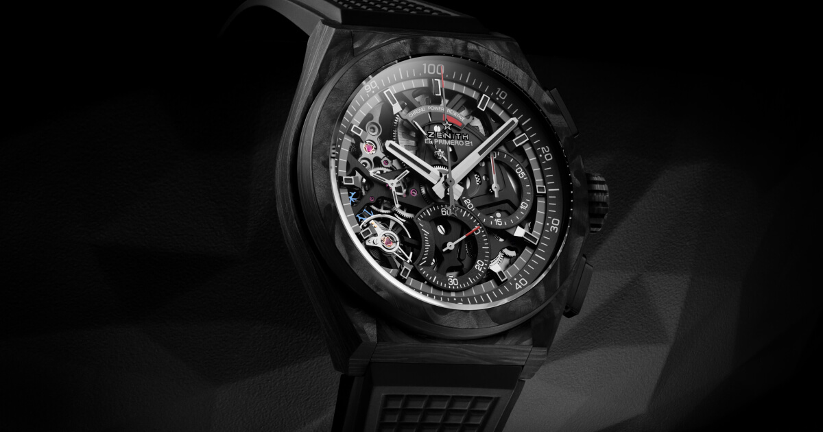 Zenith Defy El Primero 21 Carbon (Specifications and Price)