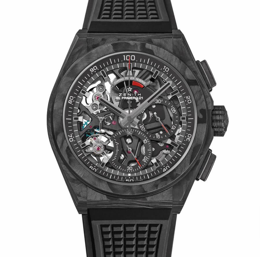 Zenith Defy El Primero 21 Carbon Watch Review