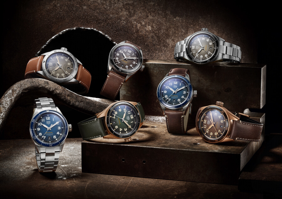 TAG Heuer Autavia Isograph Collection
