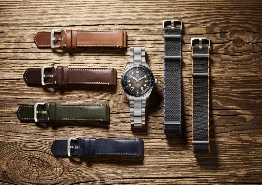 TAG Heuer Autavia with straps & bracelets