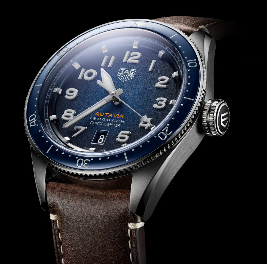 TAG Heuer Autavia Isograph Blue Dial