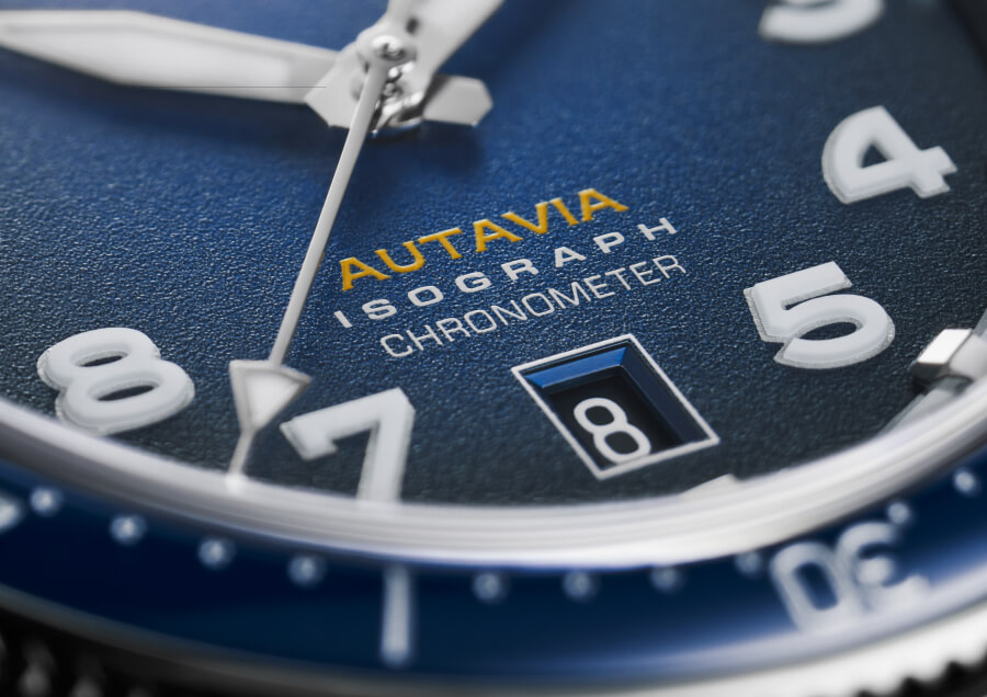 TAG Heuer Autavia Isograph Dial