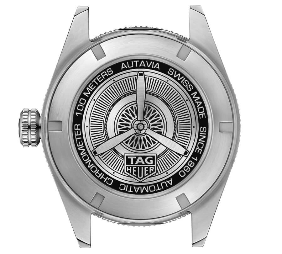 TAG Heuer Autavia Isograph Case Back