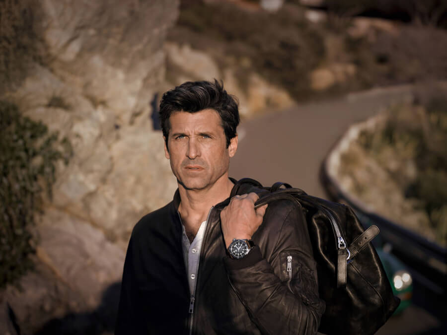 Patrick Dempsey Watch Tag Heuer