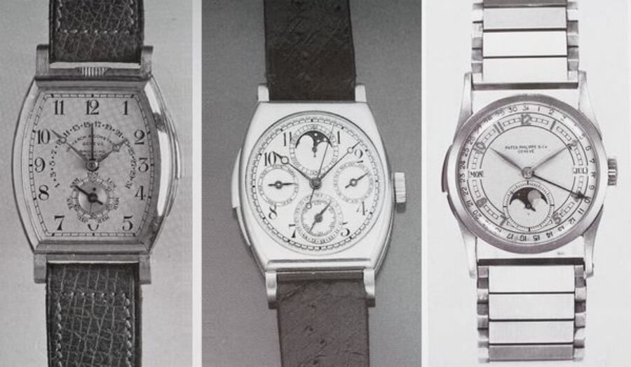 "Vacheron Constantin model 3620, the ""Schulz"" and the Patek Philippe perpetual calendar minute repeating wristwatch 1939"