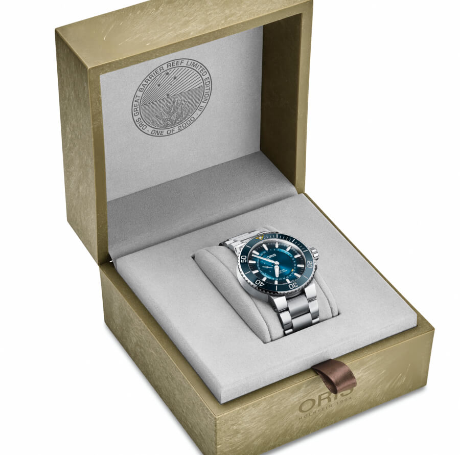 Oris Great Barrier Reef Limited Edition III Full Box