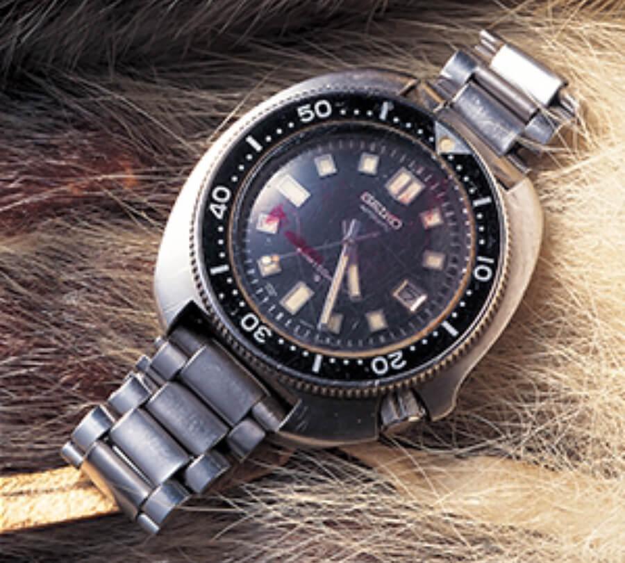 original 1970's Seiko diver's watch