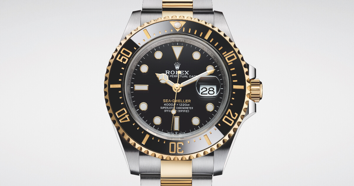 Rolex Sea-Dweller In A Yellow Rolesor Version Reference 126603 (Specifications and Price)