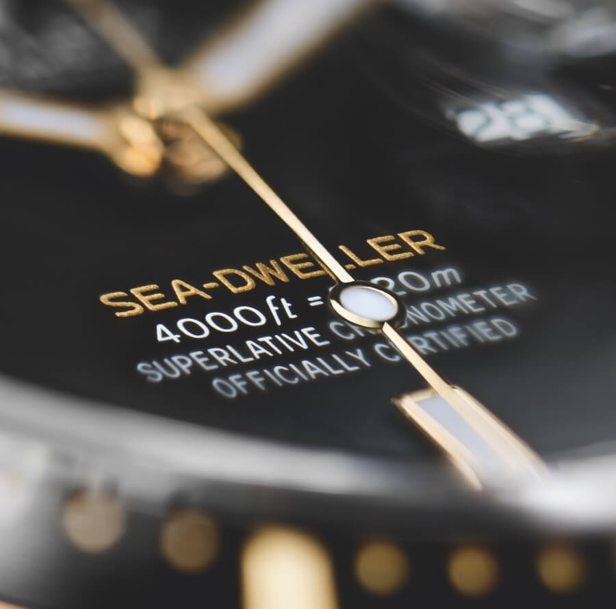 Rolex Sea-Dweller Reference 126603 Dial