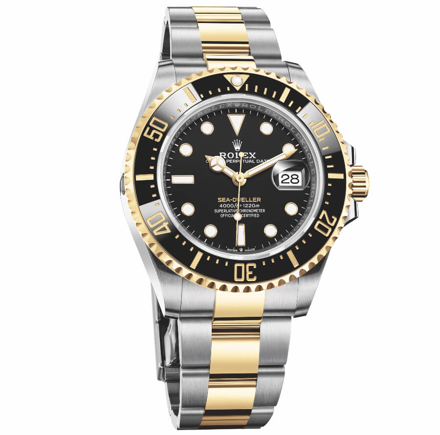 Rolex Sea-Dweller Yellow Rolesor Gold