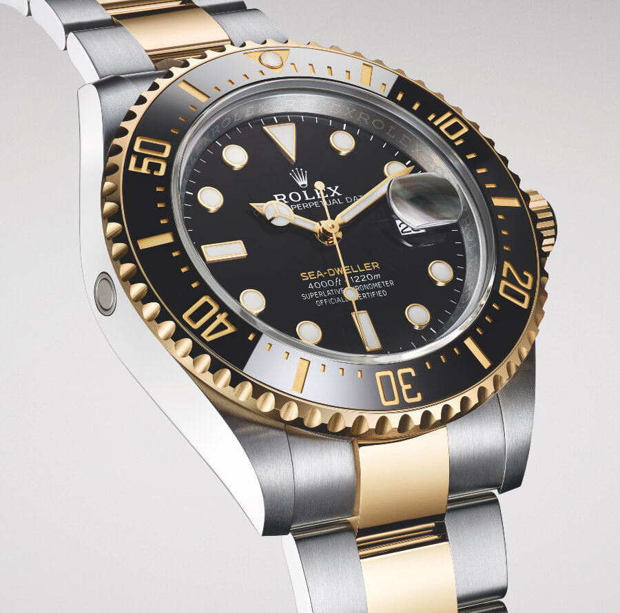 Rolex Sea-Dweller Two Tone