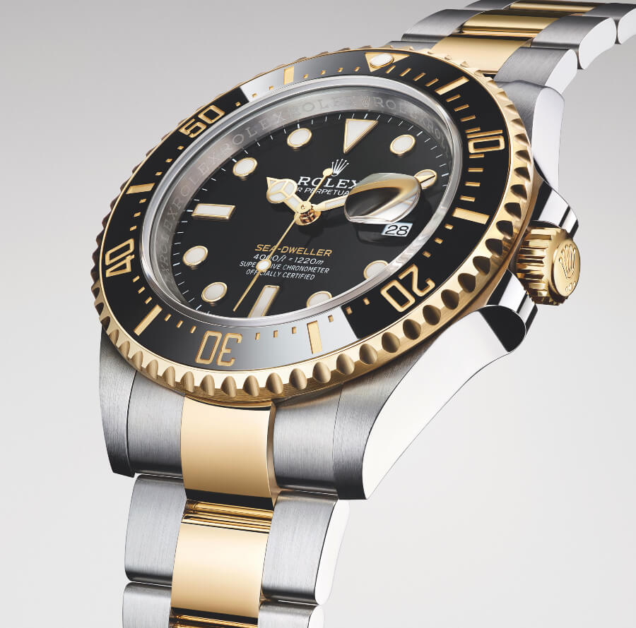 Rolex Sea-Dweller Gold
