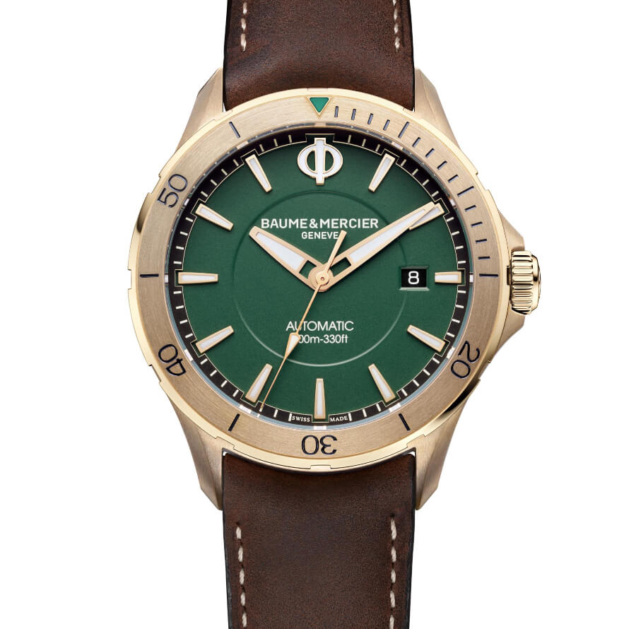 Baume & Mercier Clifton Club Bronze Green Dial