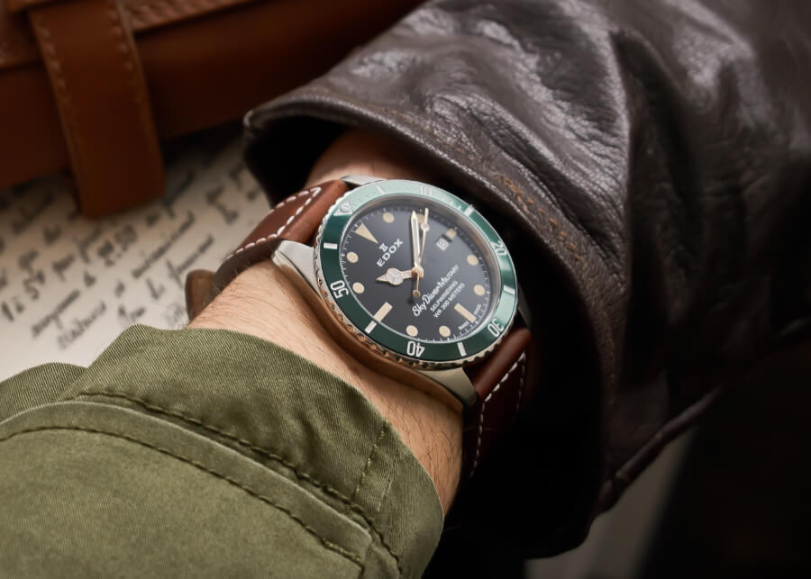 Edox Skydiver Military Limited Edition Watch Review