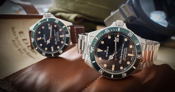 Baselworld 2019: Edox Skydiver Military Limited Edition (Specifications and Price)