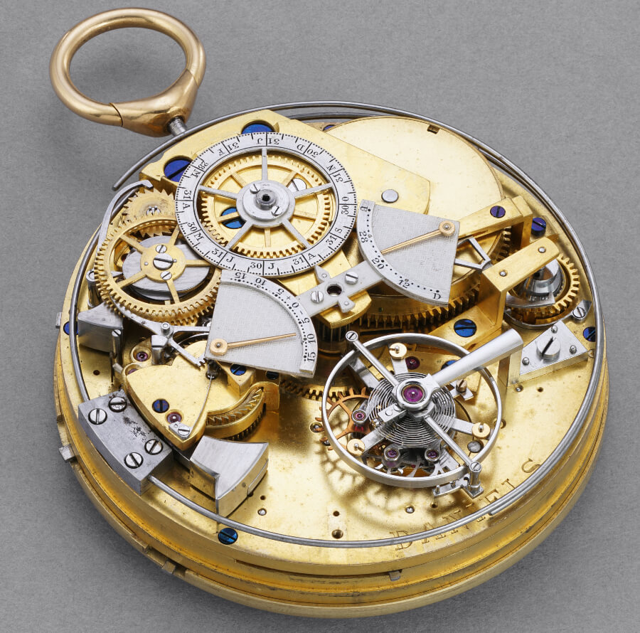 George Daniels Grand Complication Pocket Watch Movement