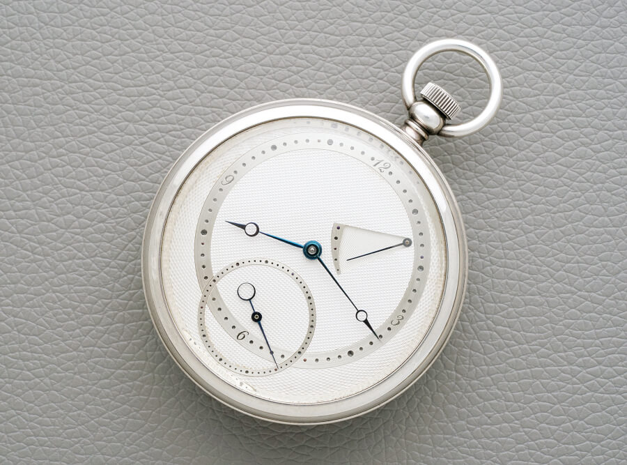 Kari Voutilainen's first tourbillon pocket watch prototype