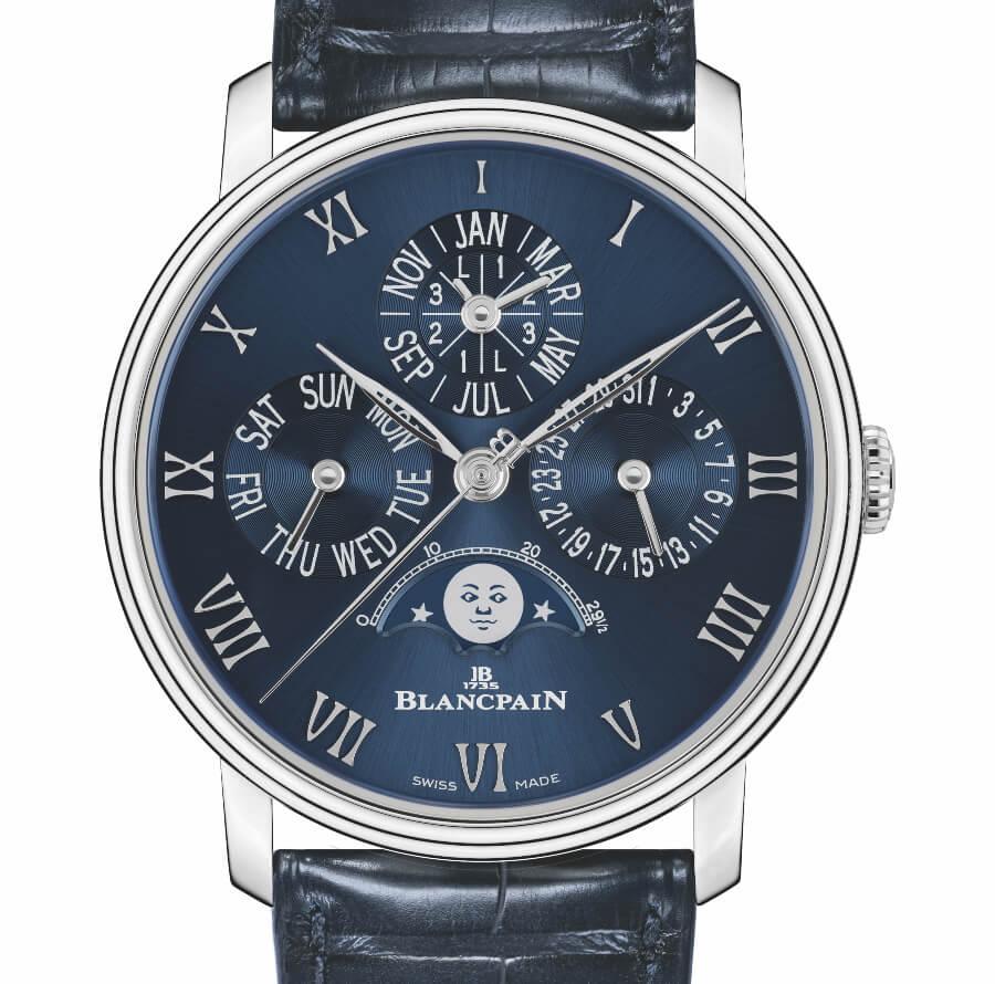 Blancpain Perpetual Calendar Blue Dial