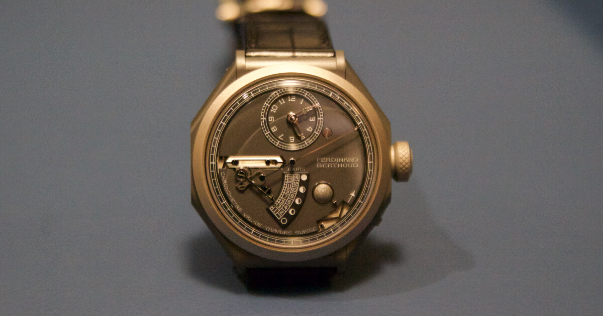 Hands On: Ferdinand Berthoud Chronomètre FB 1L (With Video)