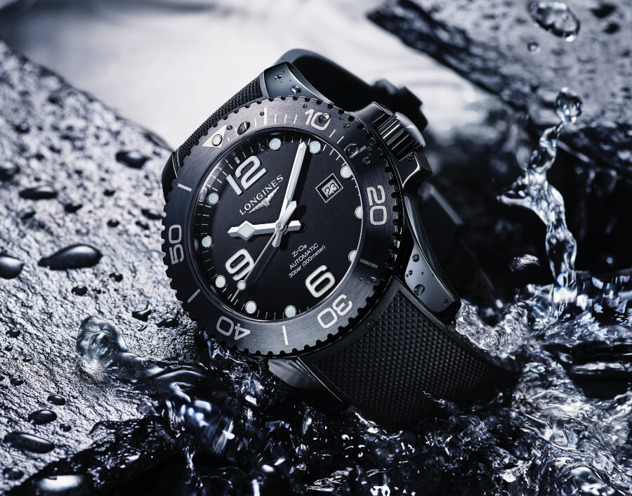 Longines HydroConquest black ceramic version