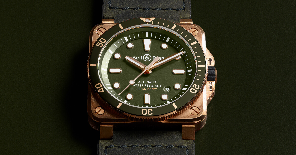 Bell & Ross BR 03-92 Diver Green Bronze (Specifications and Price)