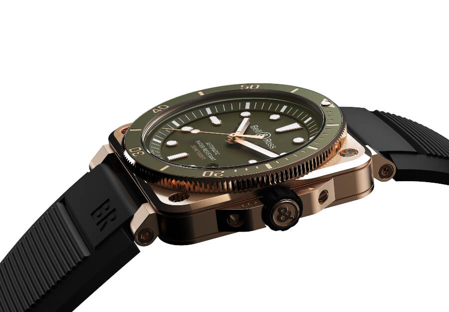 The New Bell & Ross BR 03-92 Diver Green Bronze