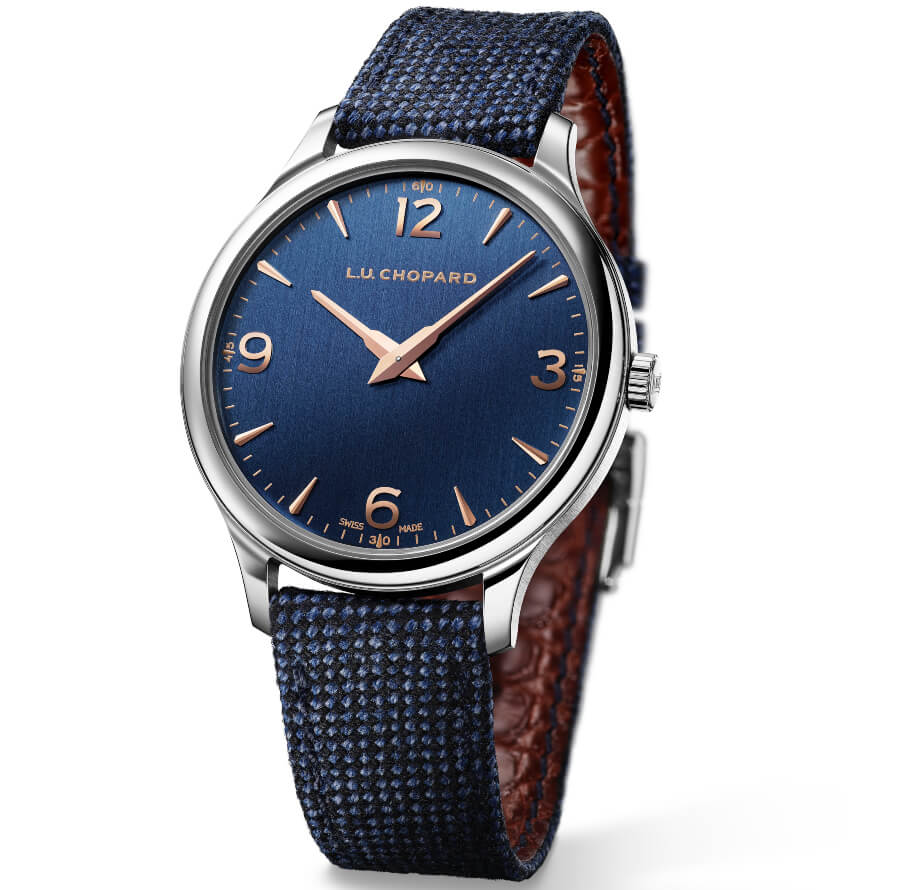 Chopard Blue Dial Men Watch