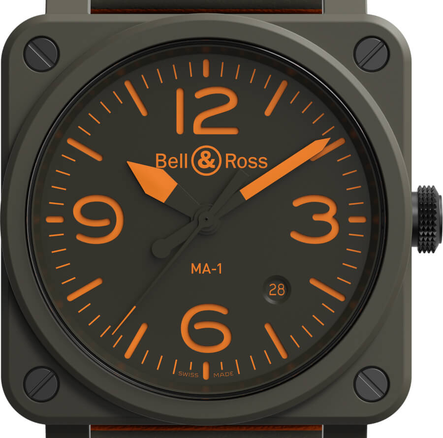 The New Bell & Ross BR 03-92 MA-1 Limited Edition