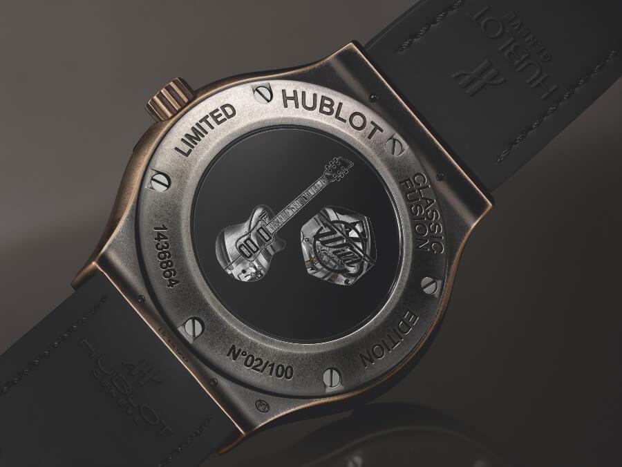 Hublot Classic Fusion Wild Customs Case Back