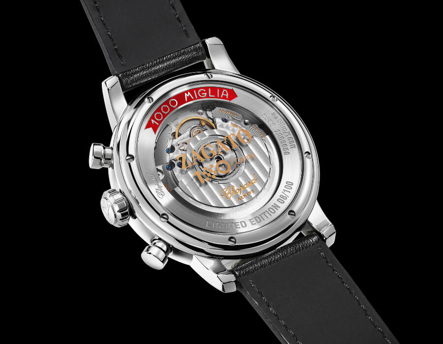 Chopard Mille Miglia Classic Chronograph Zagato 100th Anniversary Edition Movement