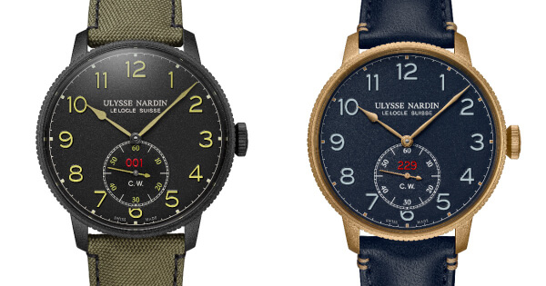 Ulysse Nardin Marine Torpilleur Military In Khaki And Bronze (Specs and Price)