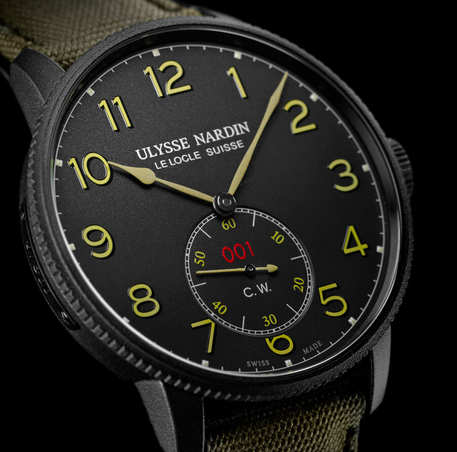 Ulysse Nardin Marine Torpilleur Military Watch Review