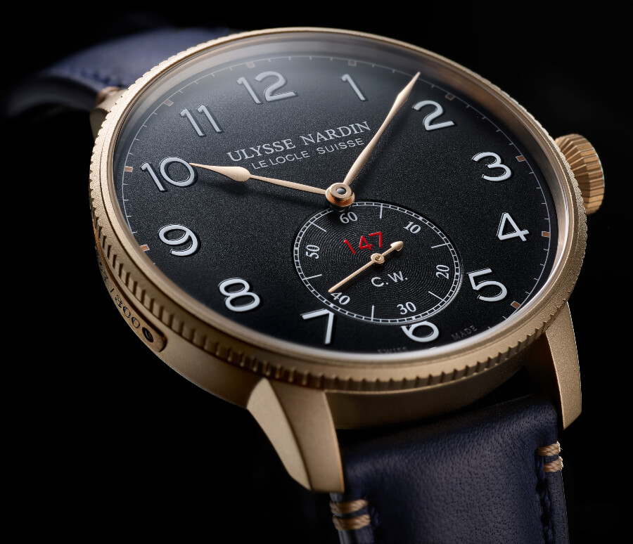 The New Ulysse Nardin Marine Torpilleur Military