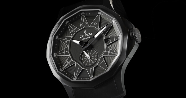 Corum Admiral 42 Full Black (Specs and Price)