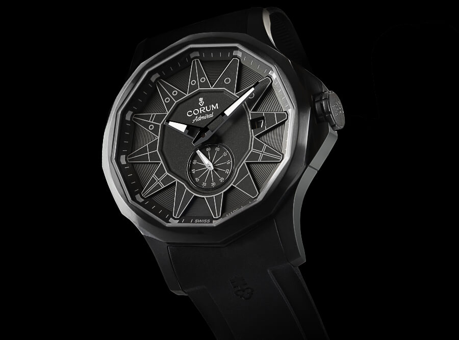 Corum Admiral 42 Full Black Watch Review