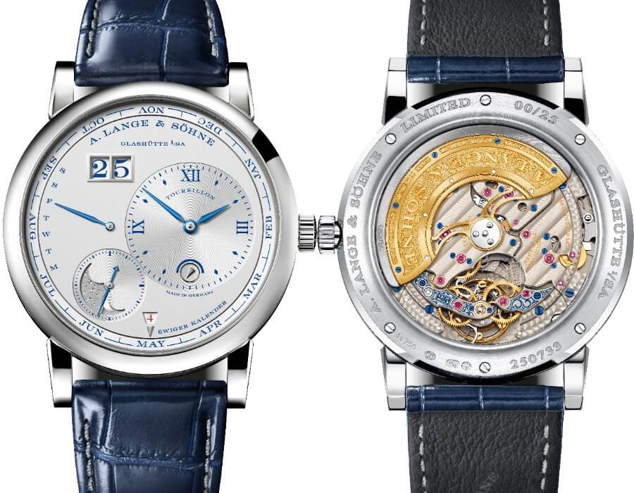 "The New A. Lange & Söhne Lange 1 Tourbillon Perpetual Calendar ""25th Anniversary"""