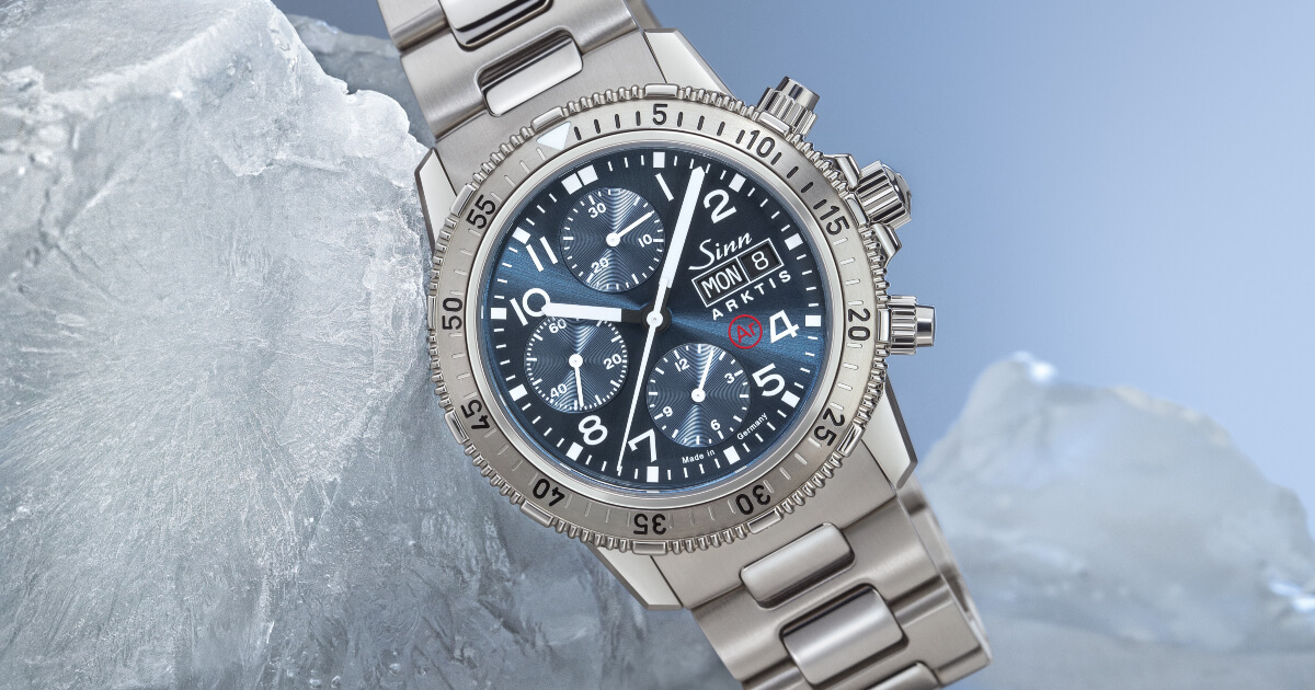 Back To Baselworld 2019: Sinn 206 ARKTIS II (Specs and Price)