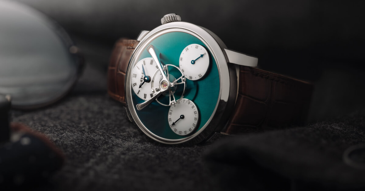 """MB&F Legacy Machine """"Split Escapement"""" Titanium Green (Specifications and Price)"""