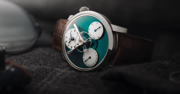 "MB&F Legacy Machine ""Split Escapement"" Titanium Green (Specifications and Price)"