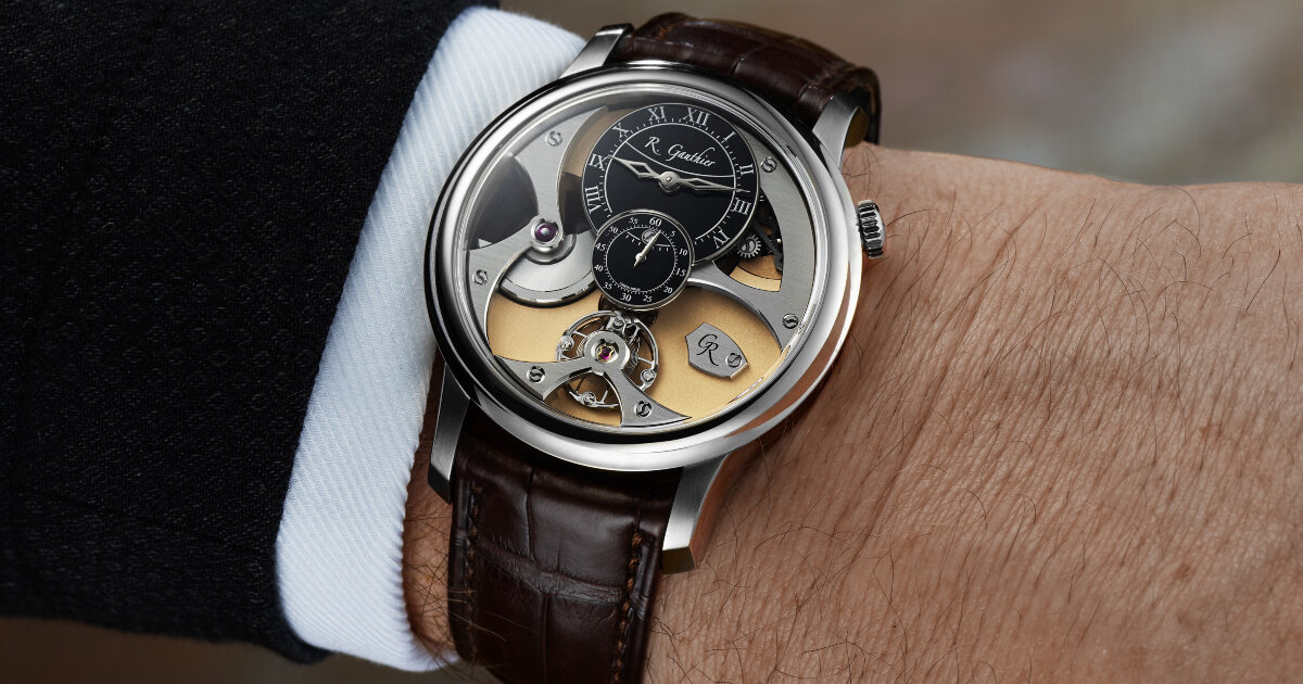 Romain Gauthier Insight Micro-Rotor White Gold Limited Editions (Specifications and Price)