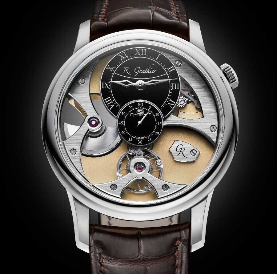 Romain Gauthier Insight Micro-Rotor White Gold Limited Editions