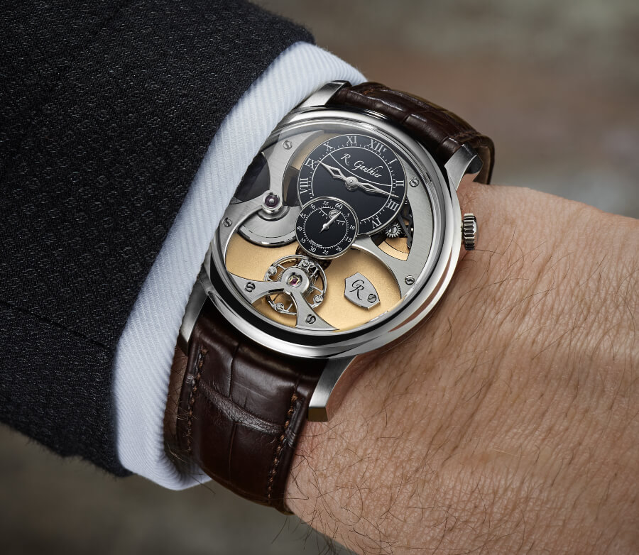 Romain Gauthier Insight Micro-Rotor White Gold Limited Editions Watch Review