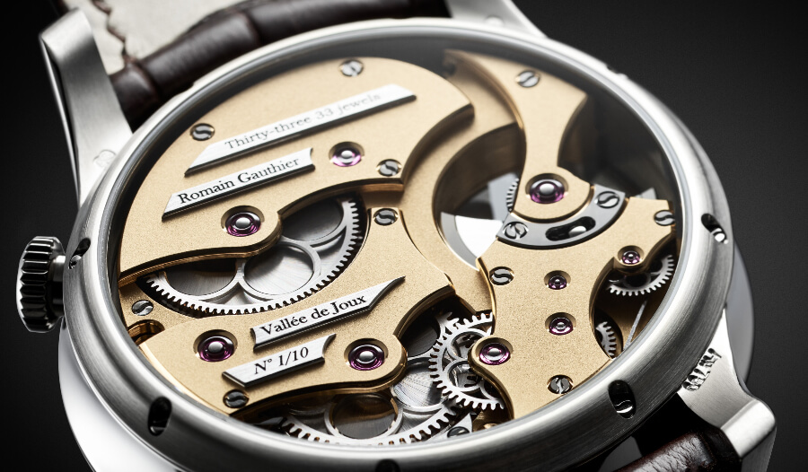 Micro Rotor Watch Movement