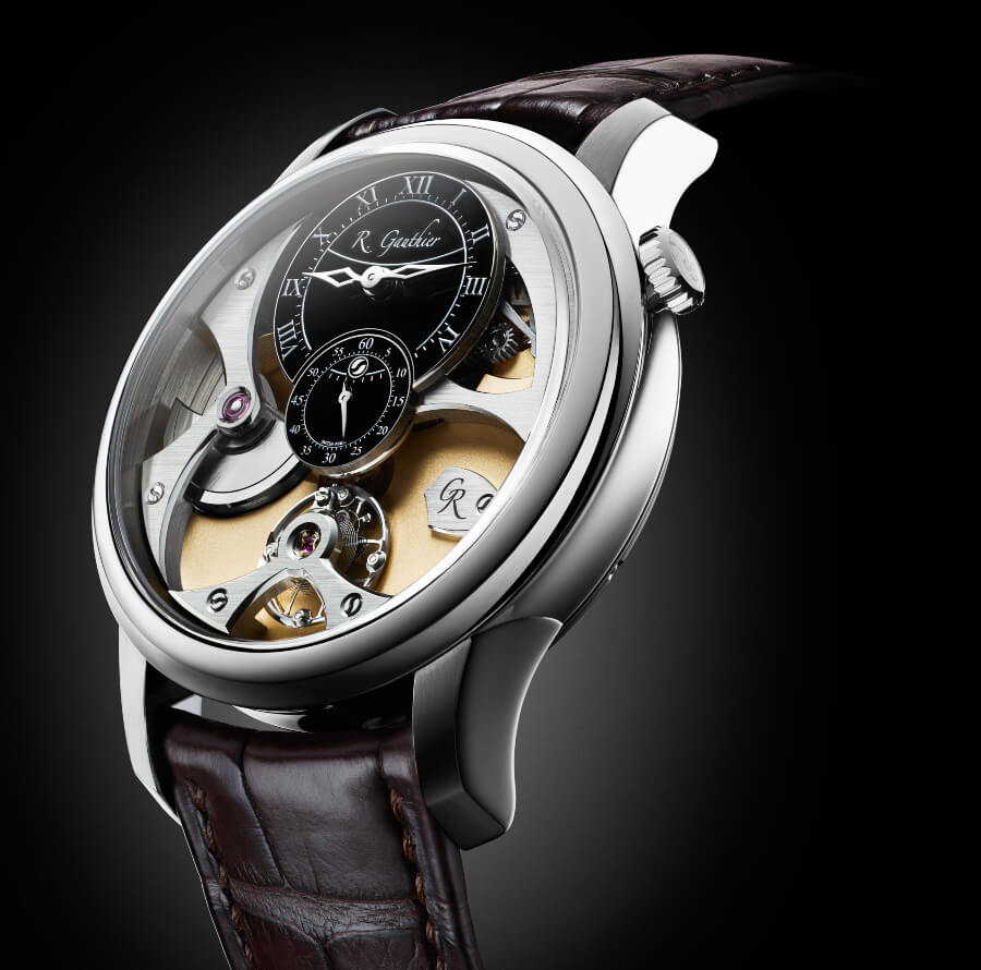 The New Romain Gauthier Insight Micro-Rotor White Gold Limited Editions