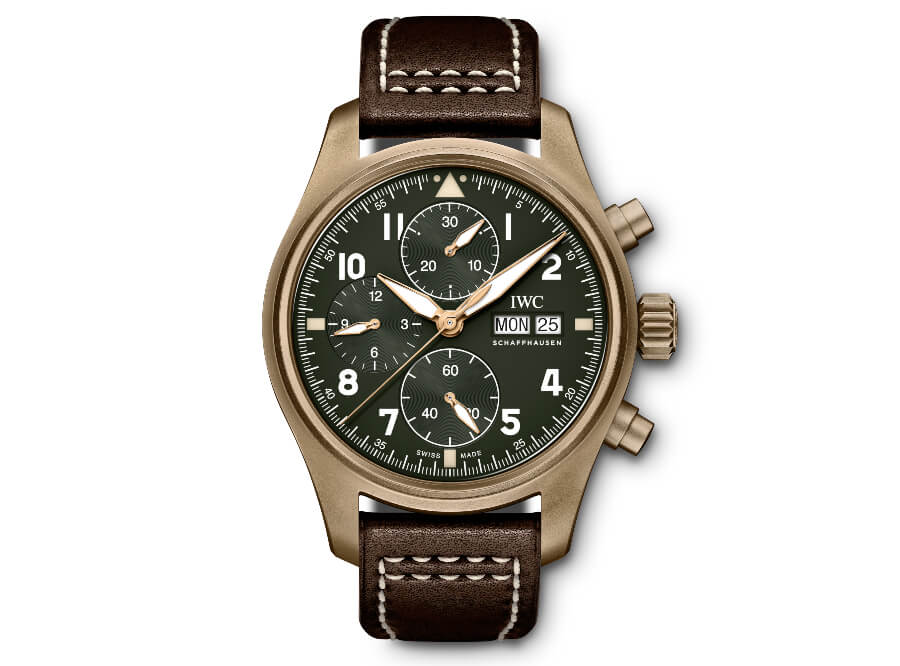IWC Pilot's Watch Chronograph Spitfire Lewis Hamilton