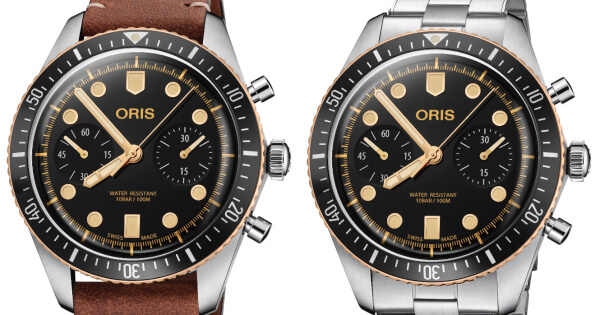 Oris Divers Sixty-Five Chronograph (Specifications and Price)